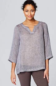 Pure Jill Airy Yarn-Dyed Top