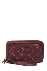 Jessica Simpson Patrice Double Zippered Wallet