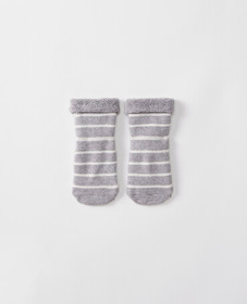 Hanna Andersson Best Ever First Socks in Heather G
