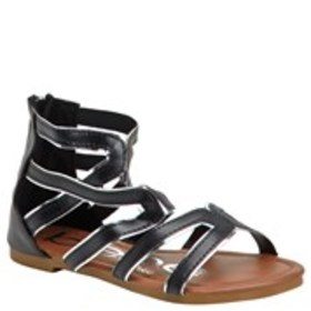 Girls Two-Tone Strappy Gladiator Sandals