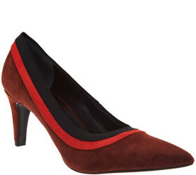 Lori Goldstein Collection Pumps with Contrast Trim