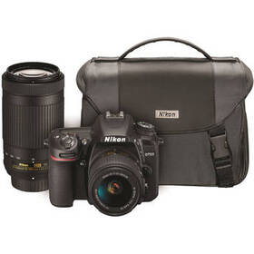 Nikon D7500 DSLR Camera with 18-55mm and 70-300mm