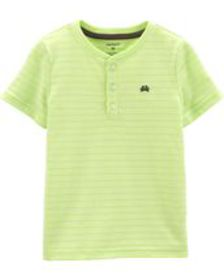 carters Baby Boy Pin Striped Henley