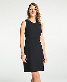 Flare Dress in Bi-Stretch