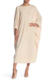 Go Couture Long Sleeve Oversized Maxi Dress