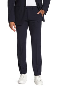 Theory Cody 2 Black Flat Front Suit Separate Trous