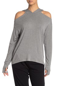 Threads 4 Thought Marin Cold Shoulder Hoodie
