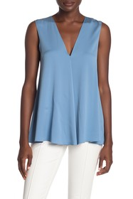 Theory Stretch Silk Swing Top