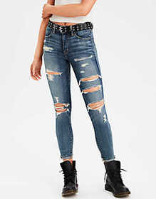 American Eagle High-Waisted Jegging Crop