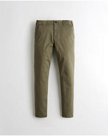 Hollister Advanced Stretch Super Skinny Chino Pant