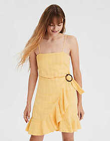 American Eagle AE Wrap Front Cami Dress