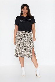 Nasty Gal Womens Black The Definition of Weekend G