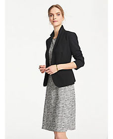 Petite Tweed Knit Sheath Dress