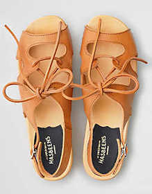 American Eagle Swedish Hasbeens Lace Up Sandal