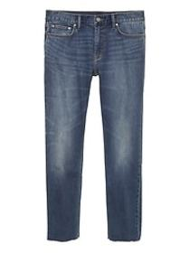 Athletic Tapered Rapid Movement Denim Cropped Jean