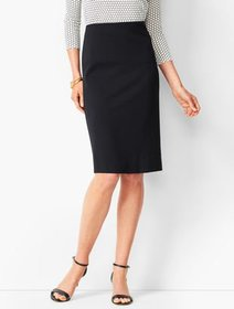 Talbots Refined Ponte Pencil Skirt - Solid