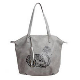 Chateau Etched Elephant Tote