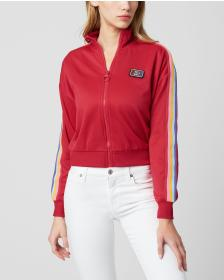 Juicy Couture RAINBOW SIDE STRIPED TRICOT TRACK JA