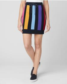 Juicy Couture BOLD VERTICAL STRIPE TERRY TRACK SKI