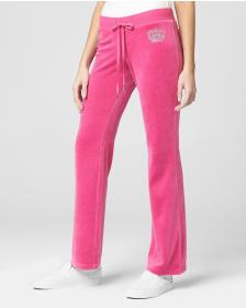 Juicy Couture JUICY CROWN VELOUR DEL REY PANT