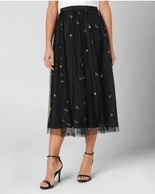 Juicy Couture POINT D ESPRIT EMBROIDERED SKIRT