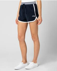 Juicy Couture MICROTERRY STRIPED RIB SHORT