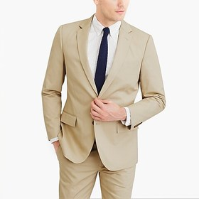 J. Crew Factory Slim-fit Thompson suit jacket in f