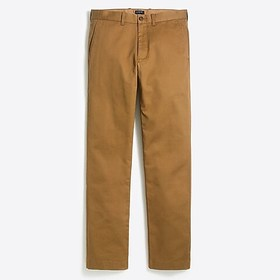 J. Crew Factory Straight-fit broken-in chino