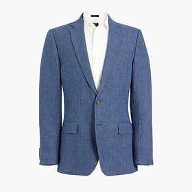J. Crew Factory Slim Thompson suit jacket in linen