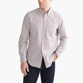 J. Crew Factory Flex washed shirt in tattersall