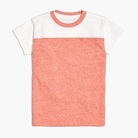 J. Crew Factory Boys' football T-shirt in supersof