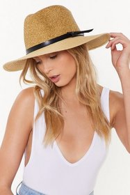 Nasty Gal Womens Cream This is the Last Straw Wide