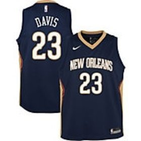 Nike Youth New Orleans Pelicans Anthony Davis #23