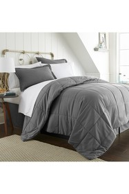 IENJOY HOME Twin Premium Bed In A Bag - Gray