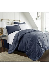 IENJOY HOME Twin Premium Bed In A Bag - Navy