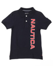 Nautica classic fit oxford polo (4-7)