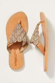 Anthropologie Laidback London Embellished Sandals