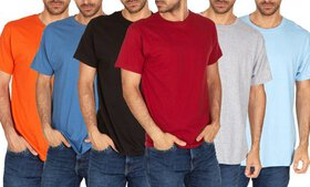 Hanes Men's Assorted Color Tees (6-Pack; S-3XL)