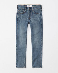super skinny jeans, light medium wash