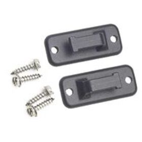 Window Awning Pull Strap Catch, Black, Set of 2