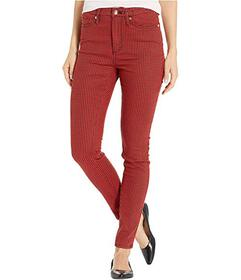 Juicy Couture Printed Mid-Rise Ankle Skinny