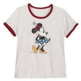 Disney Minnie Mouse Ringer T-Shirt for Women - Ext