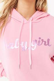 Forever21 Babygirl Graphic Hoodie