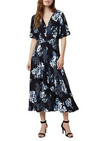 French Connection Caterina Crepe Maxi Dress UTILIT