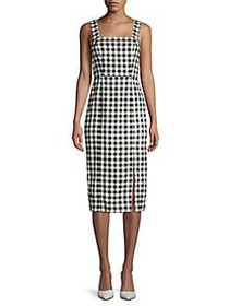 Finders Keepers Gigi Gingham Dress BLACK CHECKERED