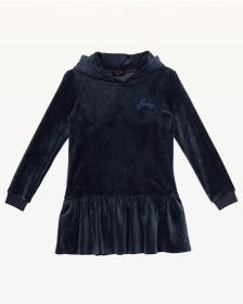 Juicy Couture SOLID LUXE VELOUR DRESS