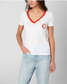 Juicy Couture JUICY LIFE SAVER V-NECK TEE