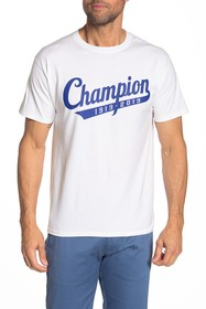 Champion 100 Year Script Tail T-Shirt