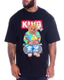 Buyers Picks king bear printed crew neck s/s tee (