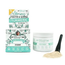 My Magic Mud Turmeric and Cacao Tooth Powder Spear